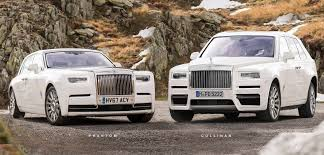 modified rolls royce rolls royce cullinan suv accurately rendered based on spyshots