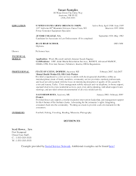crisis intervention specialist sample resume fax cover letter word