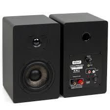 black friday speakers on sale amazon amazon com micca pb42x powered bookshelf speakers with 4 inch