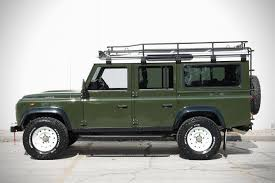 land rover defender 2017 land rover defender u0027project pedigree u0027 hiconsumption