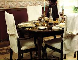 Dining Room Chairs With Slipcovers Dining Chair Slipcovers