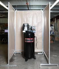 Sound Barrier Curtain Air Compressor Noise Control Acoustic Screens Noise Control