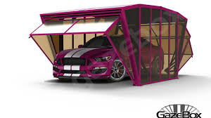 gazebox foldable carport gazebo garage for cars motors campers