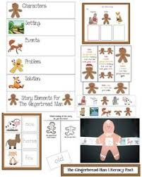 gingerbread activities free common core literacy packet for the