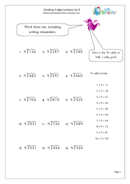 division short division worksheets for grade 6 free math