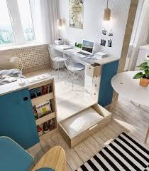 coin bureau petit espace design interieur amenagement petit espace coin couchage coin bureau