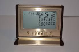 vtg micronta lcd desk clock alarm clock calendar 80 u0027s what u0027s