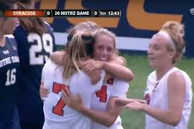 time warner cable channel guide syracuse ny syracuse 1 no 20 notre dame 1 orange score first in 2ot draw