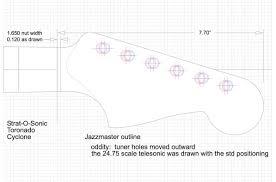 fender jazzmaster guitar templates electric herald