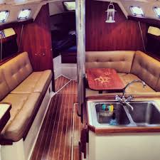 catalina 34 interior sailboat interior pins pinterest