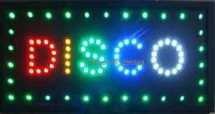 disco for sale led disco shop open neon light sign board 2017 new hot sale 10x19