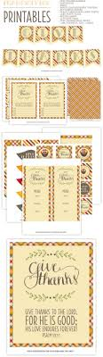 free set of thanksgiving printables for via pizzazzerie
