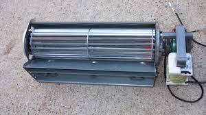 genuine hs 30000223 heat surge fireplace cross flow fan with motor