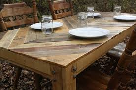 tables made from pallets dining room table made out of pallets interior decorating