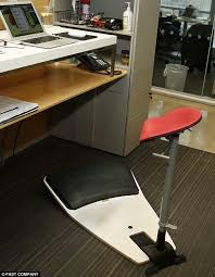 Office Chair Workout The U0027locus Seat U0027 That Keeps Body In A U0027relaxed Upright Position