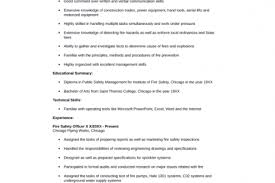 safety coordinator resume call centre resume template