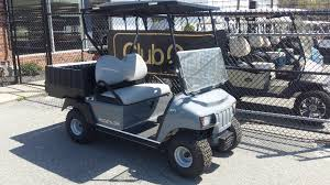 2016 club car carryall 100 electric utility vehicle gray