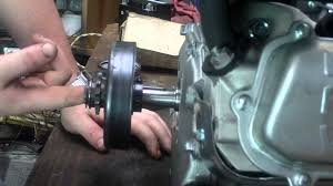 how to install a centrifugal clutch youtube