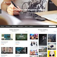 grid layout for wordpress news grid magazine wordpress theme best wordpress themes 2013
