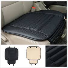 couvre siege cuir universel housse siège coussin pad pour voiture auto pu cuir anti