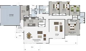 full house floor plan wohndesign cool 5 bedroom house plans rangatikei floor render