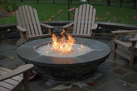 round propane fire pit table outdoor gas fire bowl outdoor designs