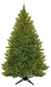 6 5 evergreen fir artificial tree with 450 multicolored