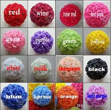 Christmas Ornaments Balls Wholesale by 6 15 Cm Artificial Rose Silk Flower Kissing Balls White Flowers