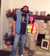 halloween costumes for couples ideas clever funny last minute couples costume idea cheech and chong funny