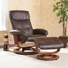 furniture modern fashionable recliner chair with brown theme