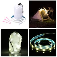Hanging Led Lights by Battery Powered Hanging Led Camping Tent Light Ride Lantern
