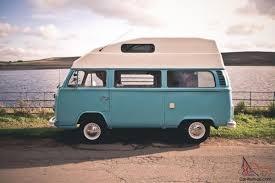 volkswagen van hippie for sale surf blue 1976 volkswagen hippie camper van just 5000 miles