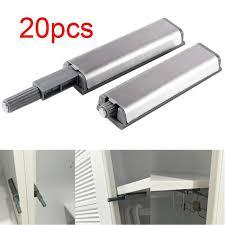amortisseur de porte de cuisine 20pcs système ton charnière push to open ressort portes placard