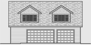 garage floor plans one two three car garages studio garage plans