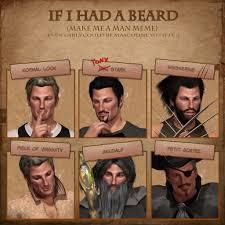 Beard Shaving Meme - john did the beard meme by lady winterlace on deviantart