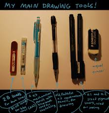 my main drawing tools by nocturnalmoth on deviantart