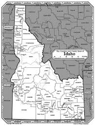 Map Of Idaho State by All About Genealogy And Family History Map Of Idaho Ancestry