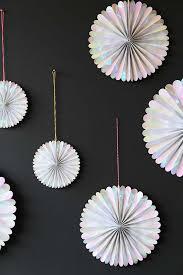Pinwheel Decorations Set Of 6 Hanging Iridescent Pinwheel Decorations From Rockett St
