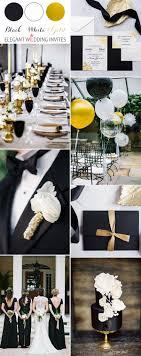 black and white wedding ideas 40 most inspiring classic black and white wedding ideas