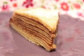 pour ceux qui aiment cuisiner gâteau de crêpes à la pomme vanille et nutella pour ceux qui