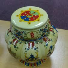 Buddhist Treasure Vase Tibetan Treasures Vase 688 Orgyen Menla Medicine Buddha 西藏宝
