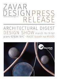 gallery mc zavar design at the architectural digest design show
