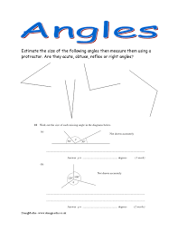 angles worksheets and powerpoints doingmaths free maths worksheets