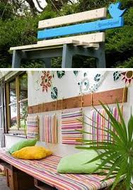 Backyard Design Ideas For Small Yards Unique Wooden Bench Decorating Ideas To Personalize Yard