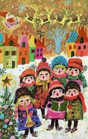 88 best mod children christmas cards images on pinterest
