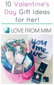 10 valentine u0027s day gift ideas for her love from mim