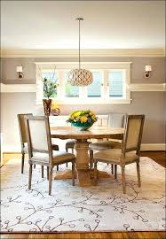 Kitchen Table Rug Ideas Dining Table Size Rug For Dining Table Centerpiece Ideas Room
