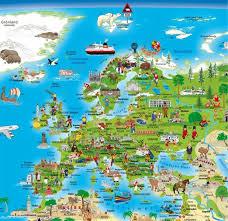 weltkarte für kinderzimmer erlebniskarte illustrierte weltkarte planokarte doris