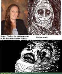 Shadowlurker Meme - shirley phelps shadow lurker gentlemint