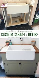 remodelaholic how to make inexpensive diy custom cabinet doors